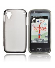 Forcell LG GT505 Silicone Back Case Lux Transparent/Black
