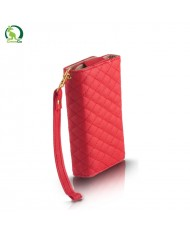 GreenGo Universal (8x14cm) Pik series wallet case for mobile devices with strap Red