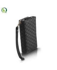 GreenGo Universal (9x16cm) Pik series wallet case for mobile devices with strap Black
