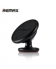 Remax RM-C29 Car Sticky Tape Metal Body Magnetic Fix holder with 360 degree rotation for any spartphone Black