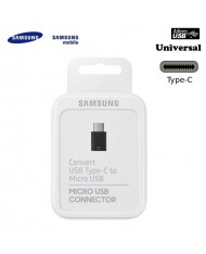 Samsung EE-GN930BBE Universal Type-C Male to Micro USB Female Cable Adapter Black