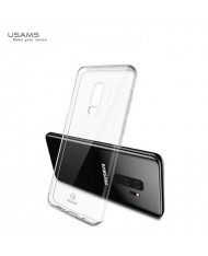 Usams Primary IP7YS01 Ultra Thin Silicone Back Case for Samsung G965F Galaxy S9 Plus Transparent