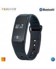 Forever SB-120 Fitness Tracker - Smart Bracelet Sleep Calorie Monitor Pedometer with Vibration Notifications Black