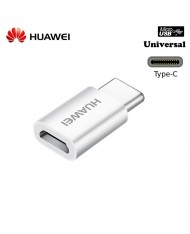 Huawei AP52 Universal Universal Type-C Male to Micro USB Female Cable Adapter White (OEM)