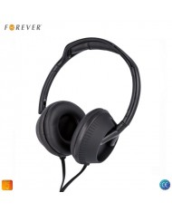 Forever CM-400 Ergonomic Stereo On-Ear 40mm Headset for Mobile Devices 3.5mm 1.2m Cable with Mic / Remote Black