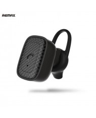 Remax RB-T18 Ultra Compact Multipoint HD Bluetooth 4.1 Mono Headset with Extra Comfor Shape (iOS/Android) Black