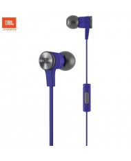 JBL E10 Synchros Universal 3.5mm PureBass In-Ear Earphones with Remote / microphone 1.2m Cable Purple