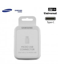 SSamsung EE-GN930BWE Universal Type-C Male to Micro USB Female Cable Adapter White