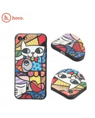 Hoco Cool Colored Cat Ultra thin 0.5mm hard silicone back cover case for Apple iPhone X / iPhone XS