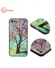 Hoco Cool Colored Tree Ultra thin 0.5mm hard silicone back cover case for Apple iPhone X / iPhone XS