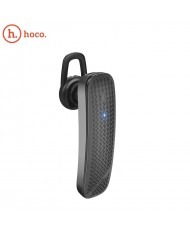 Hoco E32 Dazzling Multipoint HD Voice Bluetooth 4.2 Comfortable and Ultra-light Design Mono Headset Black