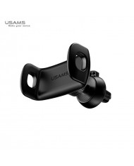 Usams US-ZJ039 U Series Mini Car Air Vent Grill Holder with Fix Release for any Smartphone 5-8cm wide Black