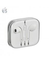 Apple MD827ZM/A Original Stereo Headset mic/remote designed iPhone 5/ White (OEM Box)