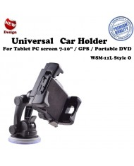 "Ex Line WSM-11L Style O Universal (6.5–17 cm) GPS - Tablet PC 6-8"" car window holder"