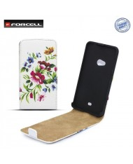 Forcell Slim Flip Pattern Samsung i9500 Galaxy S4 vertical case with picture Design 2