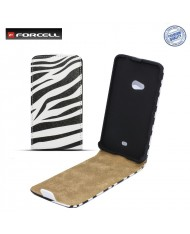 Forcell Slim Flip Pattern Samsung i9500 Galaxy S4 vertical case with picture Design 5