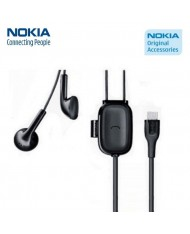 Nokia WH-203 Original Micro USB Headset with Microphone / Answer Call remote Black (OEM)