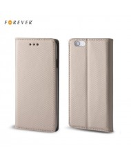 Forever Smart Magnetic Fix Book Case without clip LG K520D Stylus 2 Gold