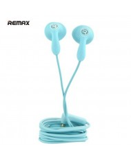Remax RM-301 Candy Strong Bass & Classic Comfort Ear Fit 3.5mm Headset with 1.2m Cable Mic Blue