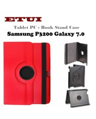 Etui Eco Leather Case with rotated stand Samsung P3200 Galaxy 7.0 Red