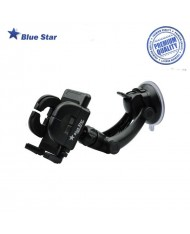 Bluestar (Regular III) Universal (3.8 - 10.7cm Wide fix) GPS/Phone Car window/panel/rest Holder with 15cm Leg
