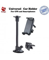 Ex Line WSM02L-27/SM3 (Smart 3) Universal (10.5-14cm) Car holder with window attachment + air vent