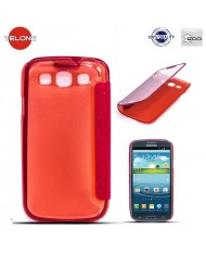 Telone Smart View&Touch Book Case Samsung i9500 Galaxy S4 Red