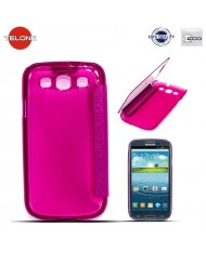 Telone Smart View&Touch Book Case Samsung i9500 Galaxy S4 Pink