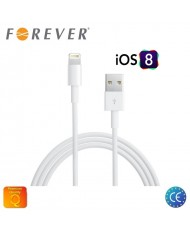 Forever USB to Lightning Data & Charging Cable (MD818 Analog) 1m White