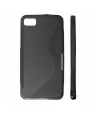 KLT Back Case S-Line HTC One S Z520e silicone/plastic case Black