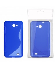 KLT Back Case S-Line LG Swift L5 E610 silicone/plastic case Blue