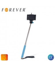 Forever MP-300 Selfie Stick 95cm - Universal Fix Monopod without Shutter Button Blue
