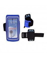 Telone Universal (13.7x7cm) Armband Pouch Case for Sport - Fitness Running Blue