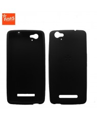 Just5 Blaster Mini Super Thin 1mm Silicone Back Cover Case Black