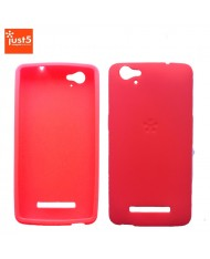 Just5 Blaster Mini Super Thin 1mm Silicone Back Cover Case Coral