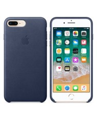 Apple iPhone 8 Plus/7 Plus Leather Case MQHL2ZM/A  Midnight Blue