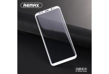 Remax Crystal 2in1 Set White Full Face 0.2mm Tempered Glass + Transparent 0.3mm back case Samsung G950 Galaxy S8