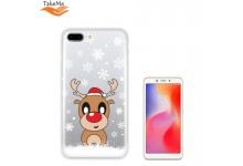 TakeMe special design ultra thin back cover case for Xiaomi Redmi 6 Snow Deer