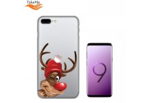TakeMe special design ultra thin back cover case for Samsung Galaxy S9+ (G965) Winter Deer
