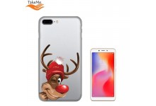 TakeMe special design ultra thin back cover case for Xiaomi Redmi 6 Winter Deer